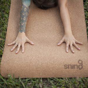 Roots Cork Yoga Mat