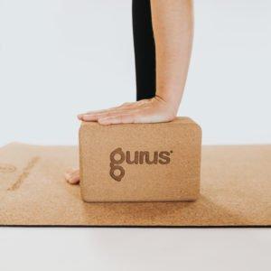 Seed Cork Yoga Block