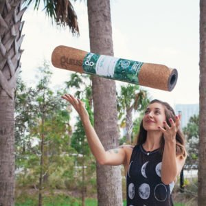 Sprout Travel Cork Yoga Mat